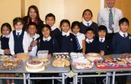 Pupils bake up aid for disaster victims