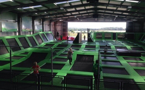 Wales' first trampoline park jumps into action