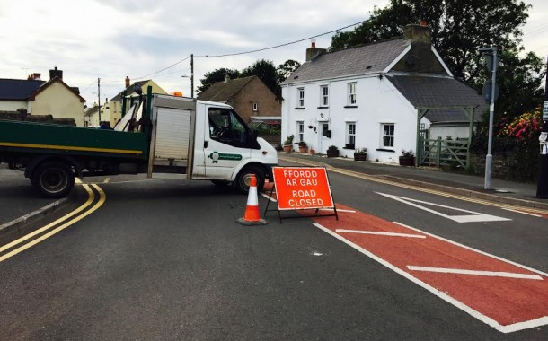 Milford Haven: Motorcycle tragedy on the Waterston Road