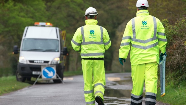 Welsh Water are dealing with the problem (File image)