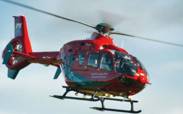 Carew: Motorcyclist airlifted after accident