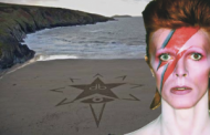 Bowie's beach tribute