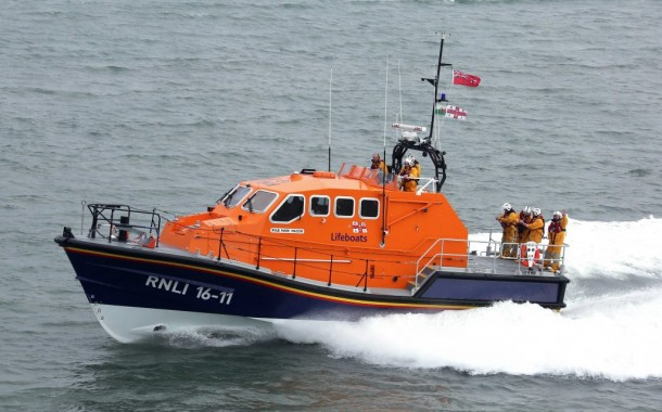 Angle RNLI lifeboat alerted after report of vessel 'fire'