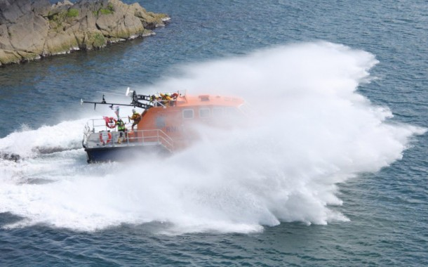 St Davids RNLI took another step forward in their move to a new lifeboat station