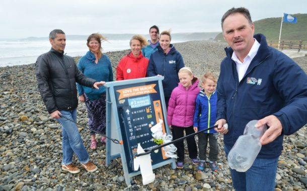 Newgale beach clean a big success
