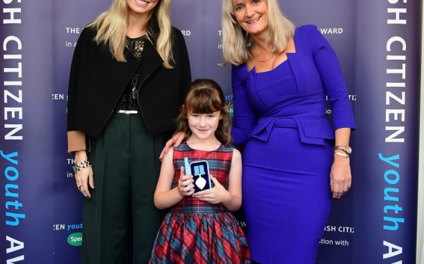 Pembroke: Six-year-old honoured at British Citizen Youth Awards