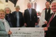 Pembrokeshire church raises funds for Air Ambulance