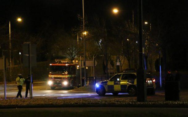 Haverfordwest: Emergency services at multi-storey car park